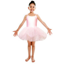 Light Pink Tutu Leotard Girls Dance Fancy Dress Ballerina Ballet Costume NEW
