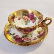 Royal Chelsea Golden Rose Tea Cup/Saucer
