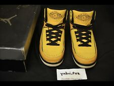 2010 Nike Air Jordan Retro 2 II Candy Pack Yellow Sz9 Eminem DB Lightning 4 Quai
