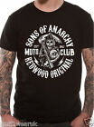 OFFICIAL Sons Of Anarchy Redwood Original T Shirt Moto Club Reaper Samcro Logo