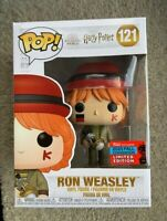 Ron Weasley NYCC Harry Potter Funko Pop Vinyl New in Mint Box + Protector