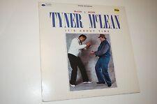 MCCOY TYNER JACKIE MCLEAN IT´S ABOUT TIME ORIG BLUE NOTE AUDIOPHIL DIGITAL LP NM