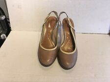 Reiss Ladies Leather Slingback Court Shoes Size 6, Lovely Condition.
