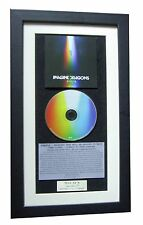 IMAGINE DRAGONS Evolve CLASSIC CD Album TOP QUALITY FRAMED+EXPRESS GLOBAL SHIP