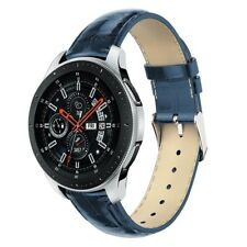 Genuine Leather Band Replacement Strap Bracelet For Samsung Galaxy Watch 42/46mm