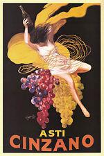 #2091 Asti Cinzano Vintage Style  Ad Art Print 24x36