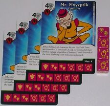 4 X MR.MXYZPTLK EQUALIZER 94 World's Finest DC Dice Masters
