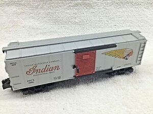 Indian Motorcycle Box Car No. 48248 - 2006 NETCA Commemorative Car