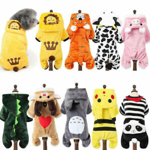 Pet Hoodies For Dog Winter Costume Cotton Dogs Outfit Clothing Pet