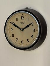 Vintage Smith electric bakelite wall clock NOT ECS sectric synchronome Gents