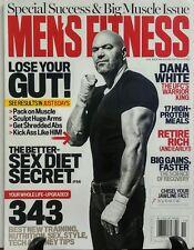 Men's Fitness Nov 2016 Dana White Lose Your Gut Sex Diet Secret FREE SHIPPING sb