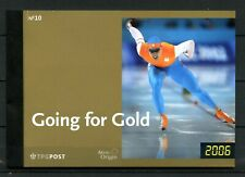 Nederland Olympische spelen Turijn 2415-2416 - Prestigeboekje 10