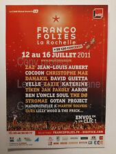 FRANCOFOLIES LA ROCHELLE 2011  carte postale