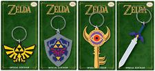 Official The Legend Of Zelda Keychain Keyring Novelty Gaming Nintendo Gift