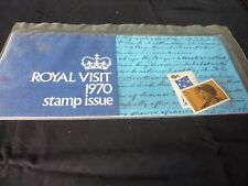 .Australian Stamps issued for Royal Visit 1970