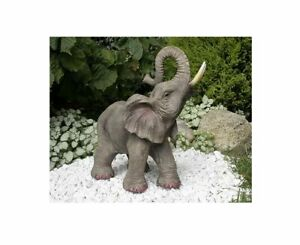 Glückselefant JAMBO Elephant afrikanische Elefantenskulptur Elefant Dekofigur