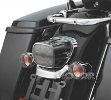 Smoke Lens LED Tail Brake Light for Harley HD Touring Road King Glide Electra FL