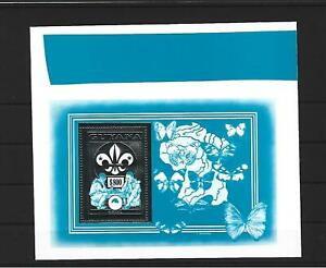 Guyana,1992,Butterfly,3 Silver essays,MNH,not listed