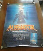 Vintage Movie Poster Alienator Heritage Entertainment Jan Michael Vincent 1989