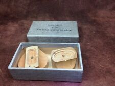 Vintage Watchmakers Pocket Watch Waltham Case Movement Holder - 2 Different Size