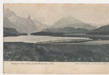 New Zealand, Valley of The Dart, Lake Wakatipu Postcard, B244