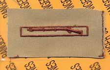 US Army EIB Expert Infantryman's Badge Desert DCU cloth patch