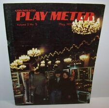 Play Meter Magazine May 1976 Atari Ad Early Arcade Games History Flipper Pinball