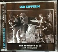 "LED ZEPPELIN ""Live at Whisky a go-go""  (RARE CD)"