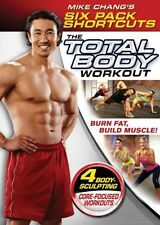 MIKE CHANG SIX PACK SHORTCUTS THE TOTAL BODY WORKOUT DVD NEW SEALED EXERCISE