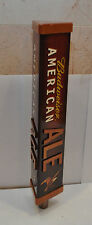 """New Budweiser American Ale 3 Sided Beer Tap Handle 12"""" Tall #13"""