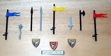 Lego Weapon Shields Lance Spear Flail Sword 8823 Castle