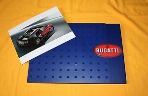 Bugatti EB 16.4 Veyron 2003 Prospekt Brochure Catalog Depliant Prospecto Folder