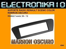 MARCO Soporte auto-radio RENAULT SCENIC MARRON OSCURO 2009 - 2012
