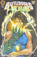 Battlebooks Comic 1999 * Witchblade * Streets Of Fire