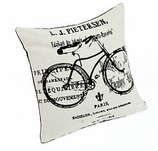 Bicycle Cushion Cover 43x43cm