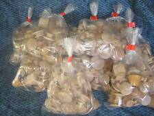 1 BAG OF Assorted Birch WOOD KNOBS *NEW* Wooden Drawer pulls Handles Maine Made
