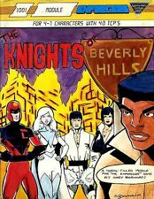 The Knights Of Beverly Hills Exc! Enforcers 1001 Module Superhero Hero Adventure