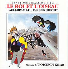 LE ROI ET L'OISEAU- B.O.F  CD + LIVRET 16 PAGES