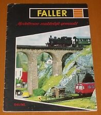 Faller  AMS --  Modellbau Magazin 841