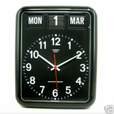 Modern Large Twemco Clock with Perpetual Calender | Options: White / Black / JPN