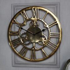 Orologi e sveglie da casa in oro a batteria in cromo
