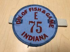 Vintage Division of Fish & Game Indiana Hunting Armband License Patch
