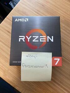 AMD Ryzen 7 5800X Desktop Processor CPU + FAR CRY 6 Game - SHIPS IMMEDIATELY!