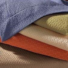Sferra ELLA 3P Matelasse Queen Blanket Cover Coverlet Shams $672 Chestnut Brown