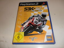 PLAYSTATION 2 PS 2 sbk-07 Superbike World Championship