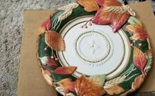 Fitz & Floyd Harvest Fall Thanksgiving plate