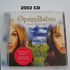 Opera Babes: Beyond Imagination Music CD 2002 Madame Butterfly Ave Maria