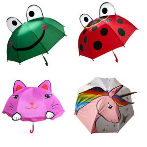 3D Pop Up Character Luxury Lightweight Umbrella For Kids By Soake