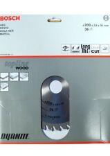 BOSCH Kreissägeblatt Topline Wood Holz Ø 200 x2,8 x 30mm 36 Z 2608640564