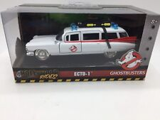 Hollywood Rides ECTO-1 GHOSTBUSTERS white Ambulance 1:32 Die Cast METALS JADA